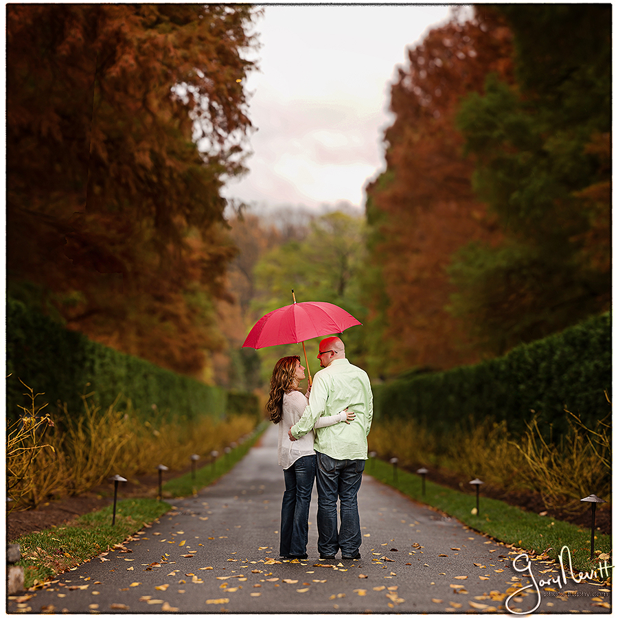 Sweeney- Longwood Gardens - Engagement Session - Gary Nevitt Photography-126