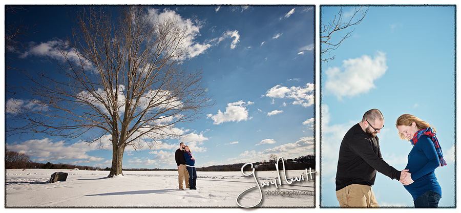 Maternity Photography - Snow - Pregnancy Pictures Gary N101evitt Photography-