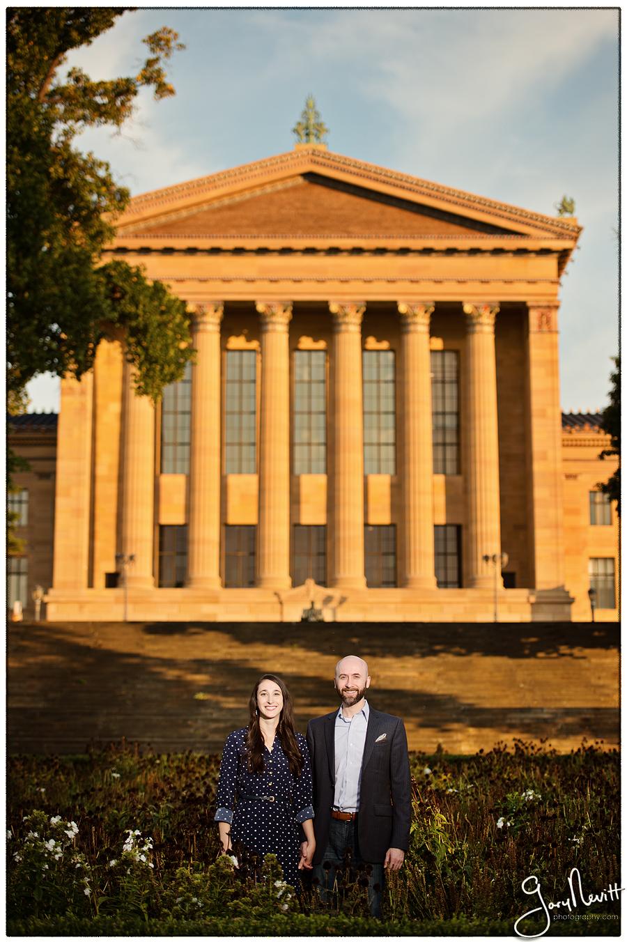 Sergel-Engagement Photography-Philadelphia Museum of Art-Gary Nevitt Photogrpahy-1054